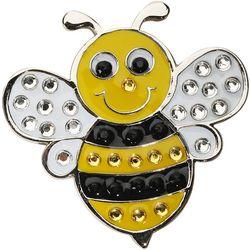 Navika Womens Bumble Bee Ball Marker Hat Clip