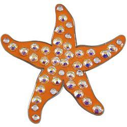 Navika Womens Starfish Ball Marker Hat Clip
