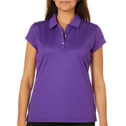 Tournament Collection Womens Mesh Short Sleeve Polo Shirt