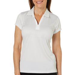 Tournament Collection Womens Linear Mesh Polo Shirt