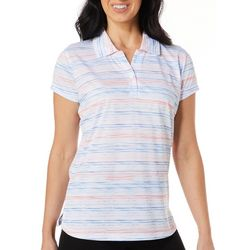 Tournament Collection Womens Sketchy Stripe Polo Shirt
