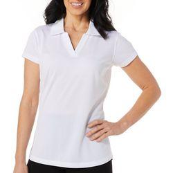 Tournament Collection Womens Diamond Short Sleeve Polo Shirt