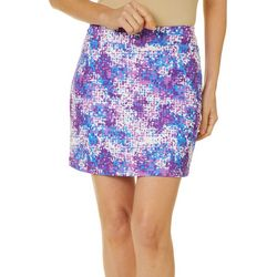 Tournament Collection Womens Digital Print Performance Skort