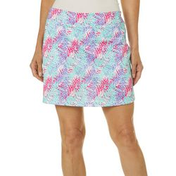 Tournament Collection Womens Tropical Palm Performance Skort