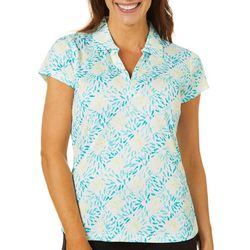 Tournament Collection Womens Diamond Grid Polo Shirt