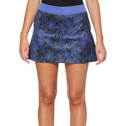 PGA TOUR Womens Driflux Gradiant Floral Pull On Skort