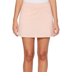 PGA TOUR Womens MotionFlux Heathered Knit Skort