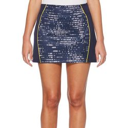 PGA TOUR Womens Driflux Brush Stroke Pull On Skort