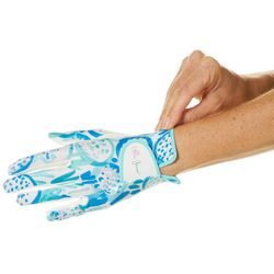 Lillie Green Womens Fore! Printed Golf Glove