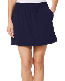 Coral Bay Golf Womens Solid Pull On Skort