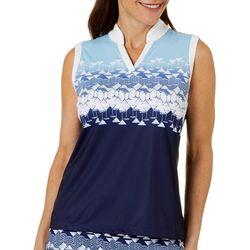 Coral Bay Golf Womens Sleeveless Martini Polo Shirt