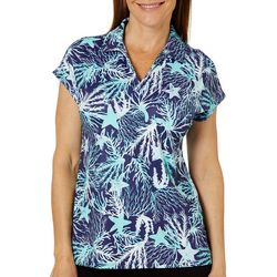 Coral Bay Golf Womens Underwater Short Sleeve Polo Shirt
