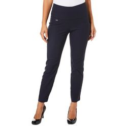 Innovare Womens Jackie High Rise Solid Pants
