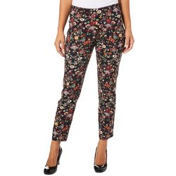 Innovare Womens Katie High Rise Floral Pants