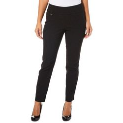 Innovare Womens Katie High Rise Solid Circle Pants