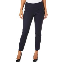 Innovare Womens Katie High Rise Solid Pants