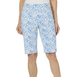 Counterparts Womens Floral Frenzy Bermuda Shorts