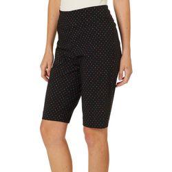 Counterparts Womens Dot Print Skimmer Shorts