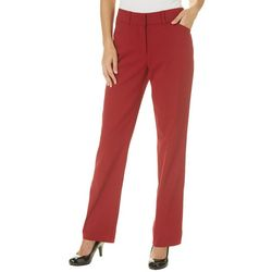 Counterparts Womens High Rise Straight Leg Pants