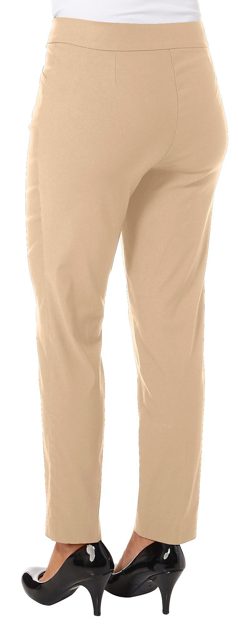 b0f93de111a Counterparts Womens Solid Luxe Stretch Pull On Pants