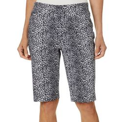 Counterparts Womens Animal Print Skimmer Shorts