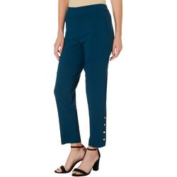 Counterparts Womens Solid Ankle Pants