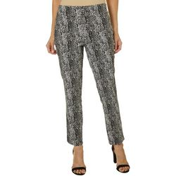 Counterparts Womens Shady Leopard Print Pull On Pants