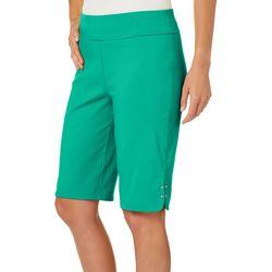 Counterparts Womens Studded Hem Skimmer Shorts