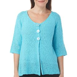 Calypso Clothing Womens Open Weave Cardigan