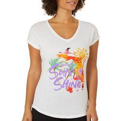 Florida Strong Womens Land Of Sunshine T-Shirt