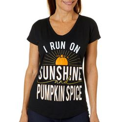 T-Shirt International Womens Sunshine Pumpkin Spice T-Shirt