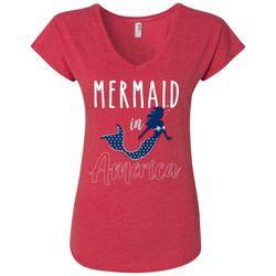 T-Shirt International Womens Mermaid In America T-Shirt