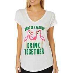 T-Shirt International Womens Birds Of A Feather T-Shirt