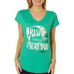 T-Shirt International Womens Irish I Was A Mermaid T-Shirt