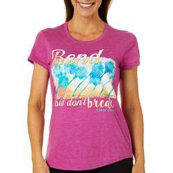 Florida Strong Womens Bend But Dont Break T-Shirt