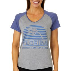 Florida Strong Womens Stronger Than Any Storm T-Shirt