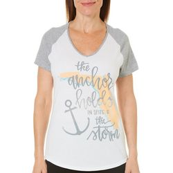 Florida Strong Womens The Anchor Holds T-Shirt