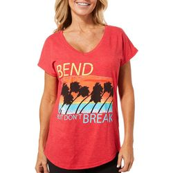 Florida Strong Womens Bend But Don't Break T-Shirt