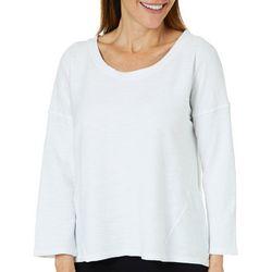 Hot Cotton Womens Textured Sweater