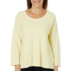 Hot Cotton Womens Textured Sweater