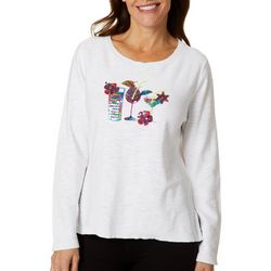 Cabana Cay Womens Summer Drinks Sweater