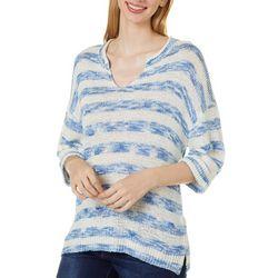 Cabana Cay Womens Striped Beach Sweater
