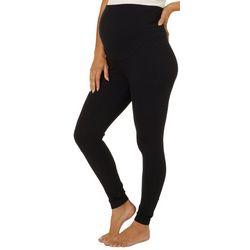 Spalding Womens Maternity Solid Leggings