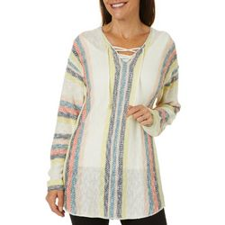 Tribekka 44 Womens Lace-Up Beach Sweater