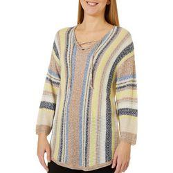 Tribekka 44 Womens Lace-Up Beach Sweater
