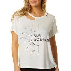 Wanderlux Womens Sun Goddess Short Sleeve Top