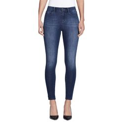 Skinny Girl Womens High Rise Faded Skinny Jeans