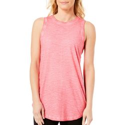 Paradise Shores Womens Solid Pigmented Tank Top