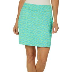 Sunsets and Sweet Tea Womens Tile Print Skort