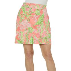 Sunsets and Sweet Tea Womens Tropical Print Skort